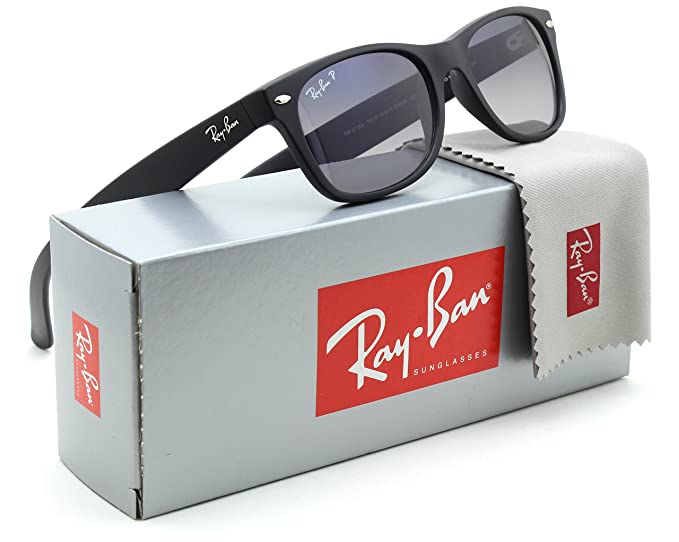 9f5be4bba7 Image Unavailable. Image not available for. Colour  Ray-Ban RB2132 New  Wayfarer Classic Polarized Sunglasses 601S78 - 52mm