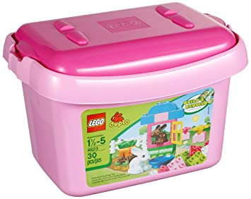 LEGO DUPLO Creative Play Pink Brick Box