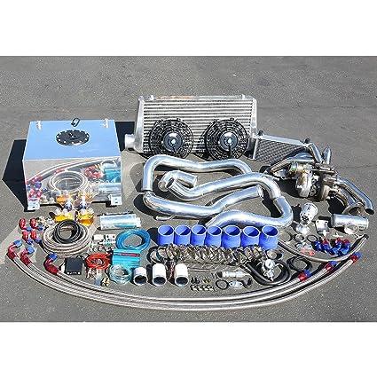 Nissan S13 KA24 Motor de alto rendimiento 22 piezas T25 Turbo Upgrade Kit de instalación