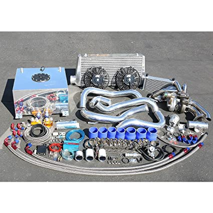 Amazon.com: For Nissan S13 KA24 Engine High Performance 22pcs T25 Turbo Upgrade Installation Kit: Automotive
