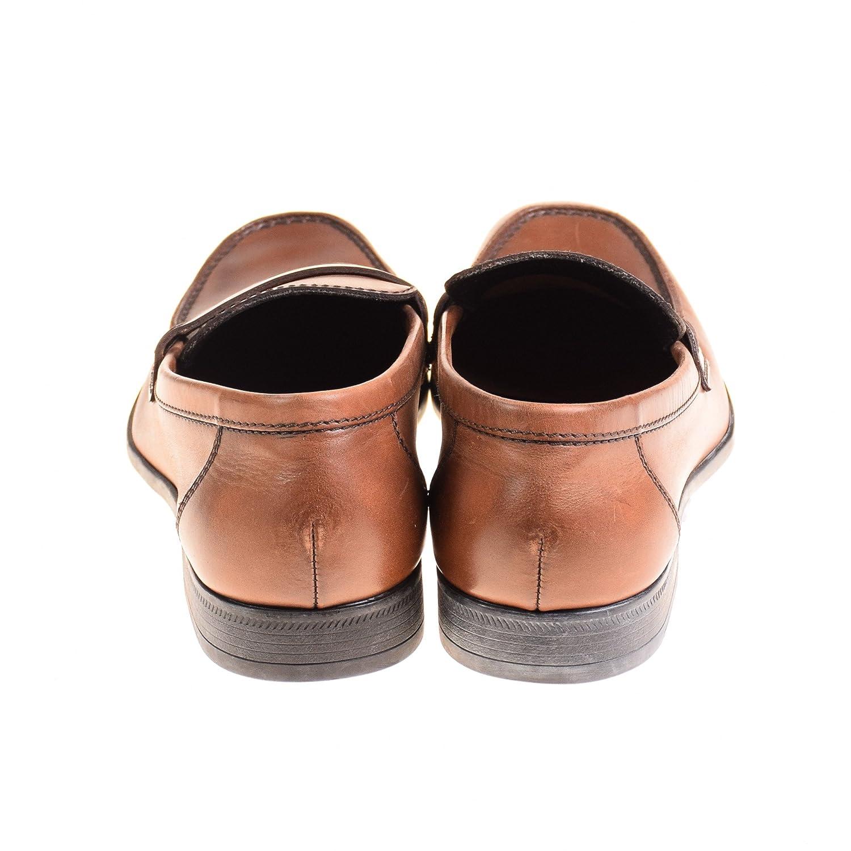 Lottusse - Mocasines de Piel para hombre marrón marrón: Amazon.es: Zapatos y complementos