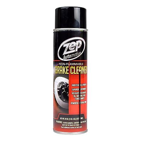 Zep no inflamable limpiador de frenos. Seguro y eficaz limpiador de freno para coche, motocicleta, ...