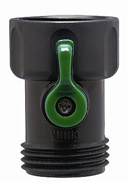 10 Pack   Orbit Plastic Garden Hose Faucet Shut Off Coupling by Orbit