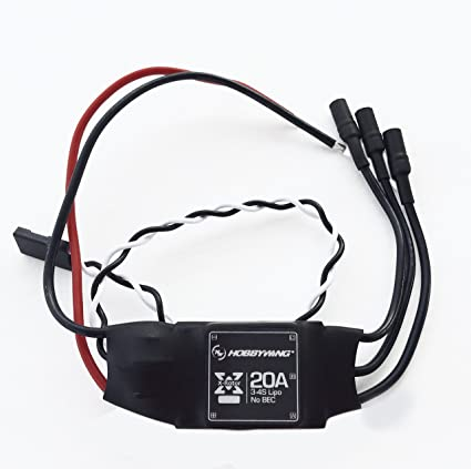 Amazon Com Hobbywing X Rotor 20a Opto 34s Brushless Esc Good For