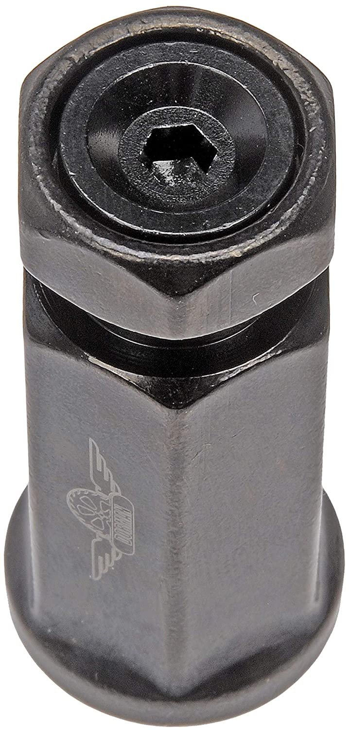 Dorman 712-645AXL Racing Style XL M14-1.50 Lug Nuts for Select Models Pack of 24 Black