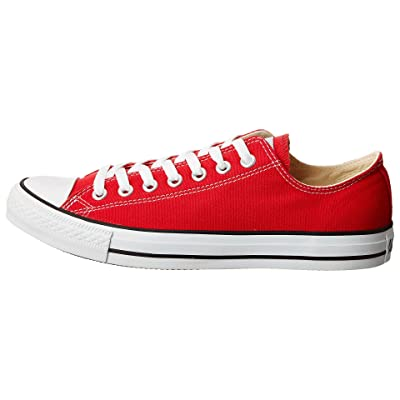 Converse Unisex Chuck Taylor All Star Ox Basketball Shoe (5.5 B(M) US Women / 3.5 D(M) US Me, Red) (Red, size)