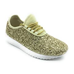 529c9ffabe3f Asushoes Womens Forever Link Remy-18 Lace up Glitter Fashion Sneaker ...