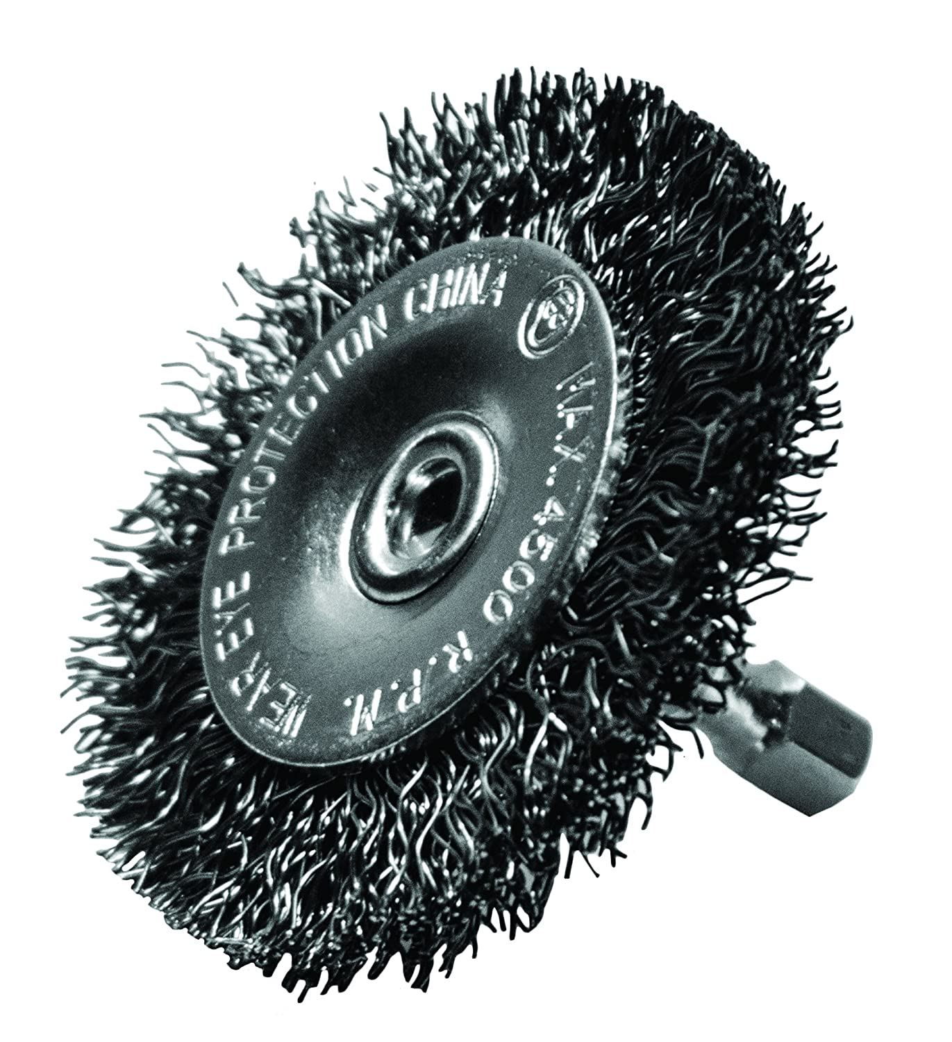 Century Drill and Tool 76441 Coarse Drill Radial Wire Brush 4 Inch
