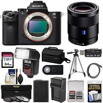 Amazon.com: Cuerpo de la cámara Sony Alpha a7 II Digital con ...