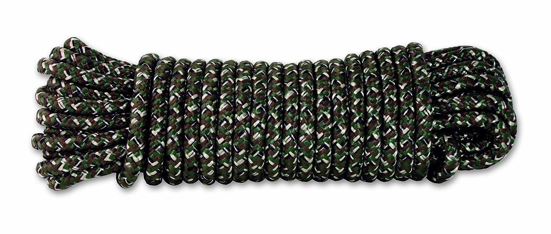 Chapuis DR63 Cuerda de polipropileno trenzada Largo 15 m Di/ámetro 6 mm 450 kg Camuflaje