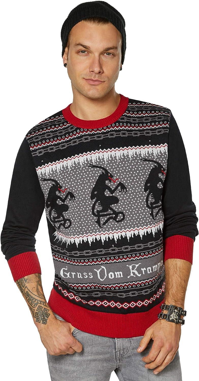 Men/'s Krampus Sweater