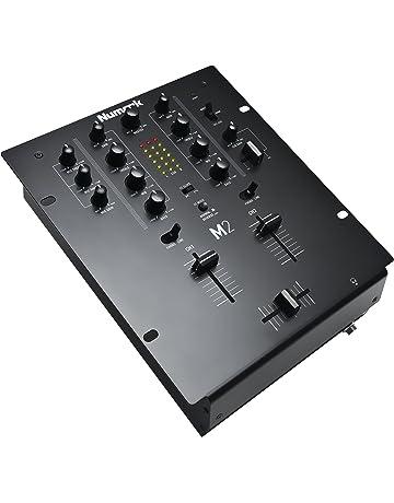 Numark M2 - Mezclador de DJ de 2 Canales Especial para Scratch, Instalable en Rack