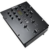 Numark M2 Black - Mezclador de DJ de 2 canales para scratch