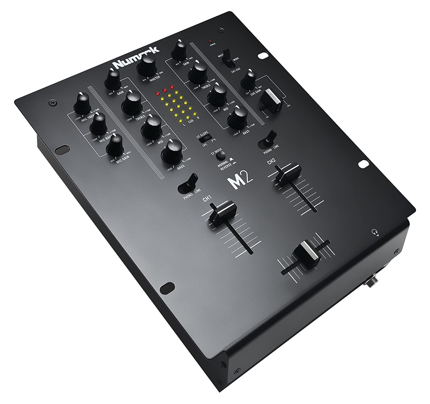 Numark M4 Black Three-Channel Scratch Mixer M4BLACK