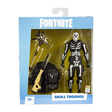 Amazon Com Mcfarlane Toys Fortnite Skull Trooper Premium Action