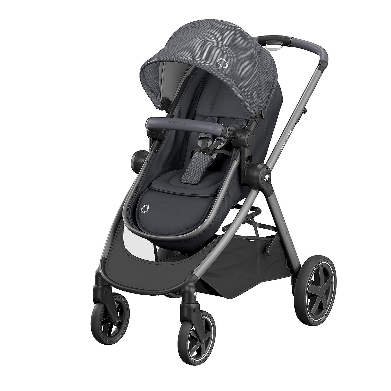 Citadine und leicht von Geburt bis 3 Kinderwagen zur Geburt Sitz umwandelbar in Babywanne 5 Jahre Essential Graphit B/éb/é Confort 1210750210 Zelia 0-15 kg
