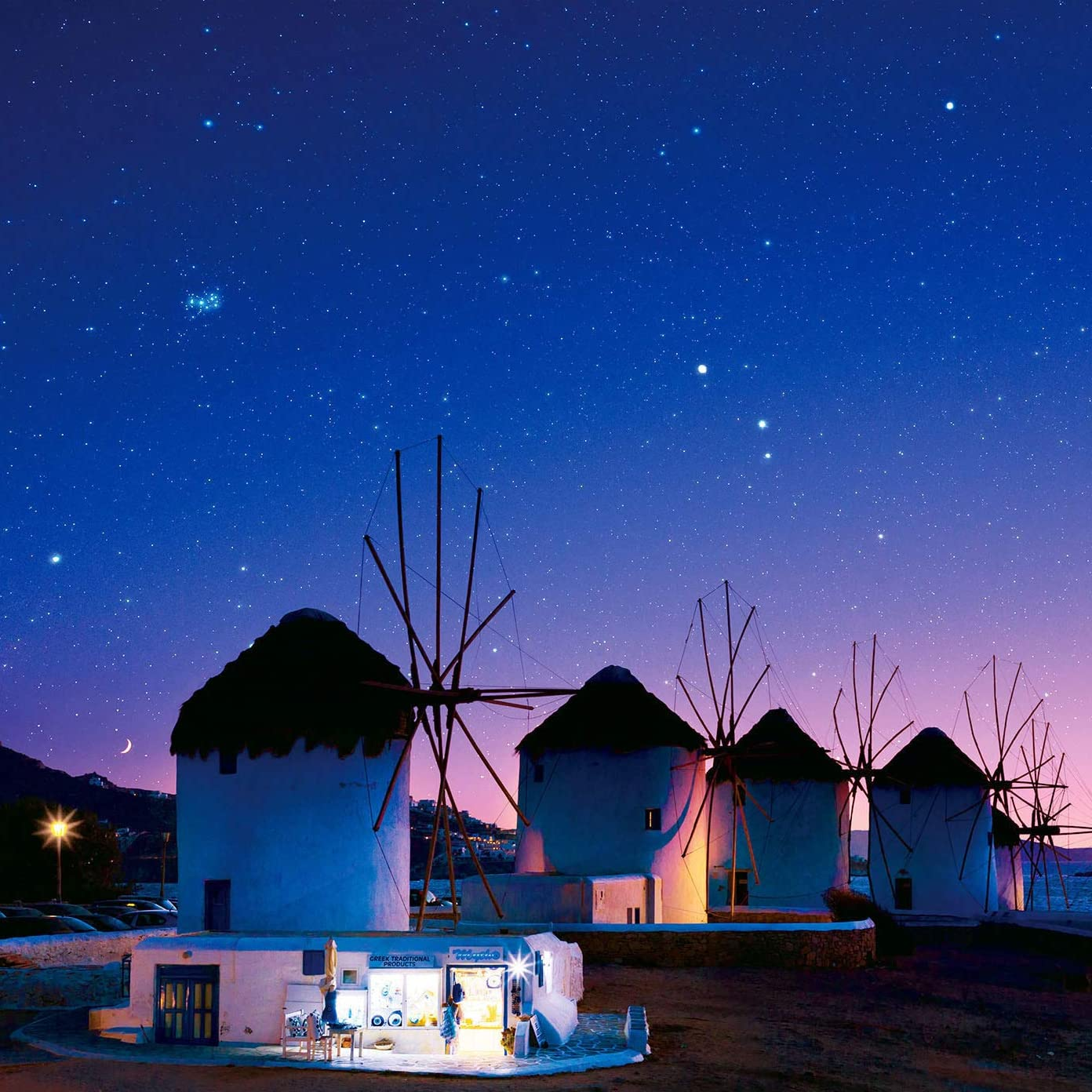 星空 Ipad壁紙 ミコノス島に住む輝く夜空の星 その他 スマホ用画像115563