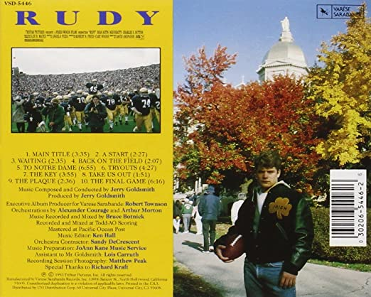 Jerry Goldsmith, Jerry Goldsmith - Rudy: Original Motion Picture Soundtrack - Amazon.com Music
