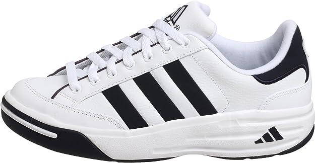 Privación escribir una carta Ejecución  Amazon.com | adidas Men's Nastase Millenium Tennis Shoe, White/Navy, 13.5 M  | Tennis & Racquet Sports