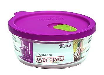 Lock & Lock LLG741 Horno de vidrio para microondas y horno ...