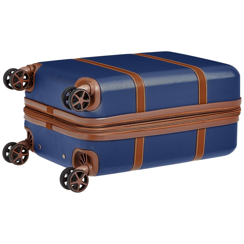 55 cm Basics Vienna Bleu marine Valise rigide /à roulettes pivotantes