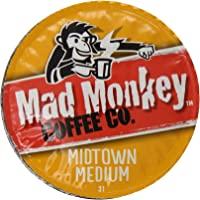 Mad Monkey 48 Count Midtown Medium Coffee Capsules