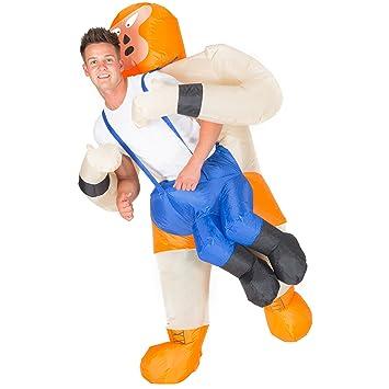 Bodysocks® Disfraz Hinchable de Luchador Adulto: Amazon.es ...