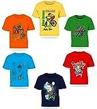 Kiddeo Kids Boys Tshirts(Navy)(Pack of 6)
