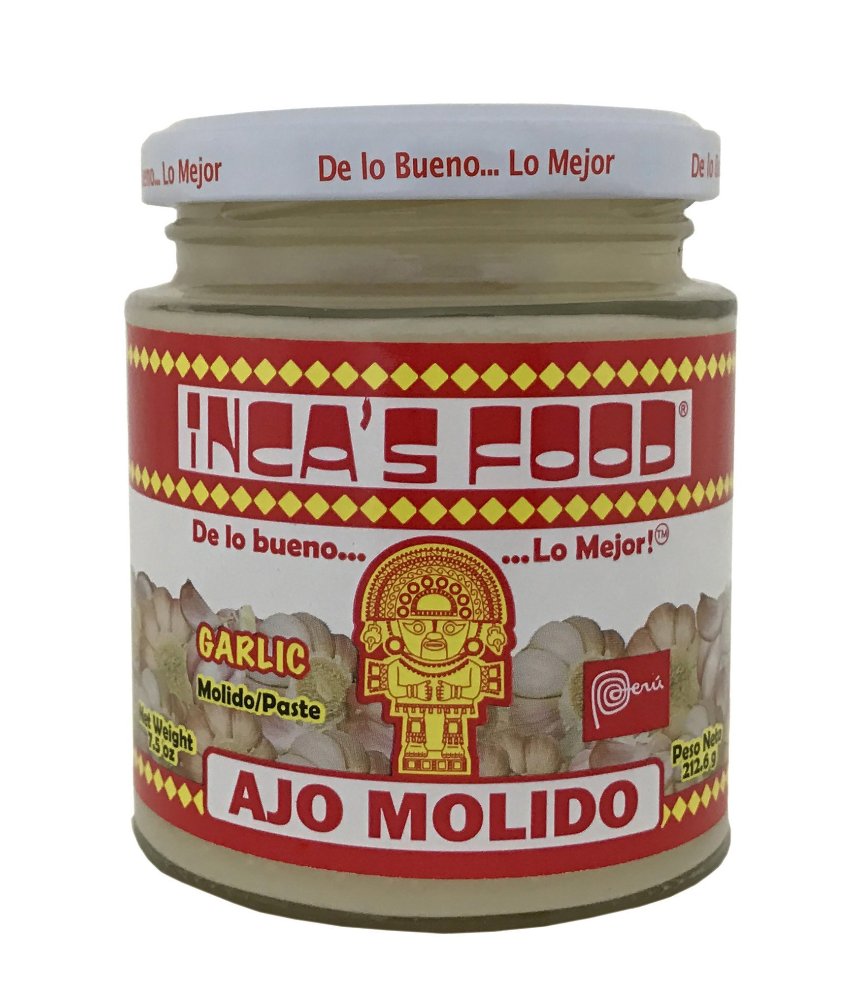 Inca's Food Aji Amarillo - Rocoto - Huacatay - Ajo - Peruvian Spices - 4 Pack - 7.5 oz. each
