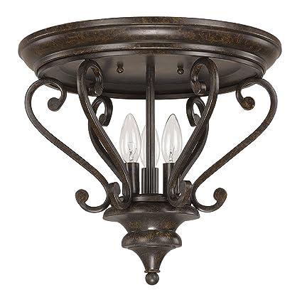 Capital Lighting 4533CB Three Light Ceiling Fixture