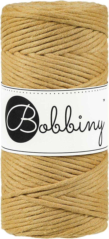 Bobbiny Premium - Cordón de algodón de macramé 100% algodón ...