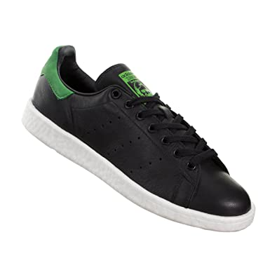 adidas Stan Smith Mens (w Boost Sole) in Black Green d61e510742