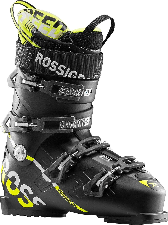 18-19 ロシニョール スピード100 アルペン スキー ブーツ ROSSIGNOL SPEED 100 メンズ 男性用 靴 オールマウンテン_黒-黄_26.0cm