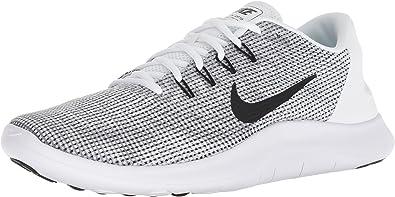 super popular a pies en mejor precio Amazon.com | Nike Flex 2018 Rn Mens Aa7397-100 Size 11 White/Black ...