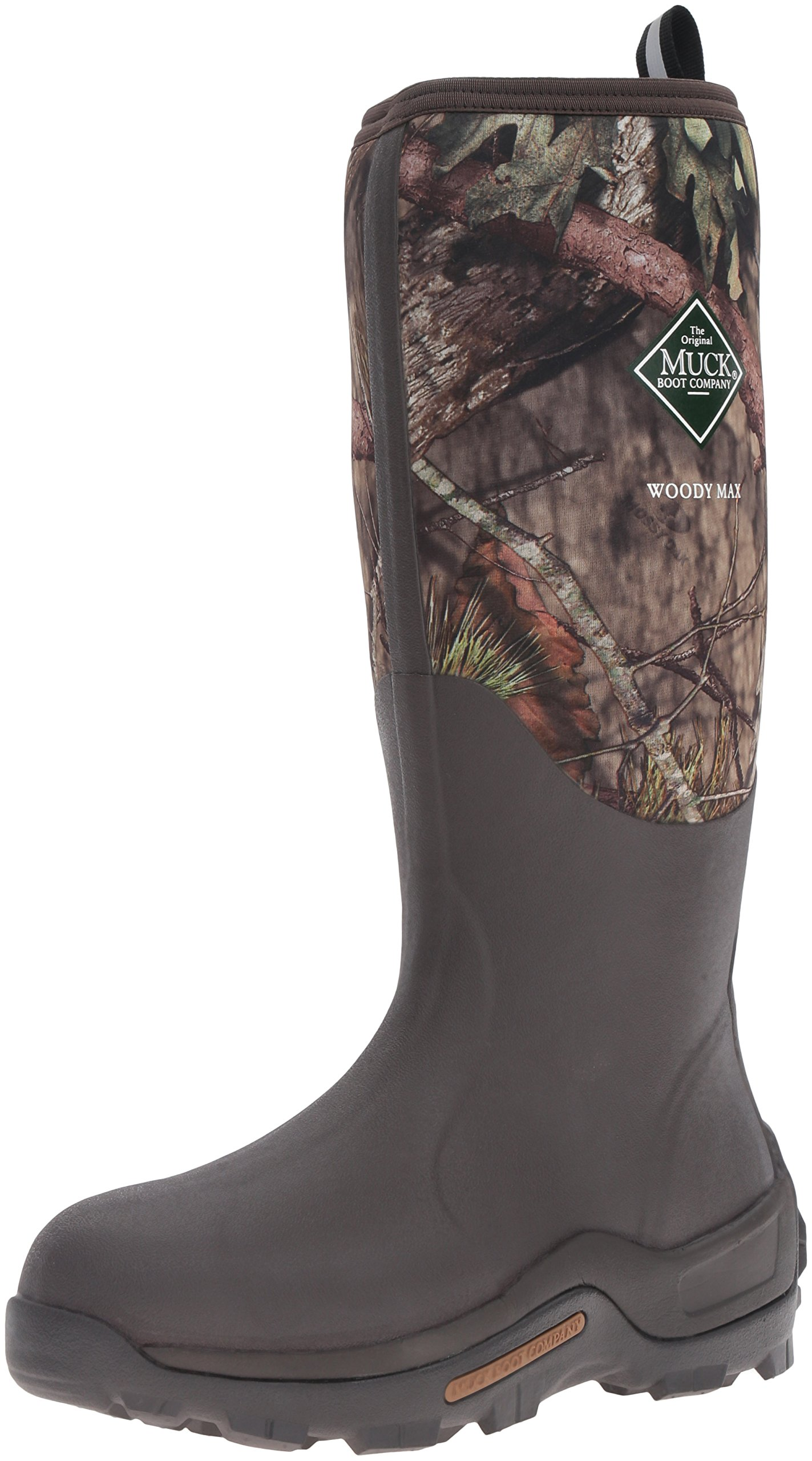 Muck Boot Men's Woody Max Hunting Shoes, Mossy Oak, 10 US/10-10.5 M US