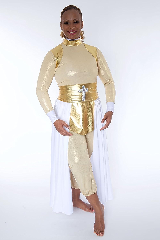 Amazon.com : Praise Garment / Vestuario De Danza Cristiana ...