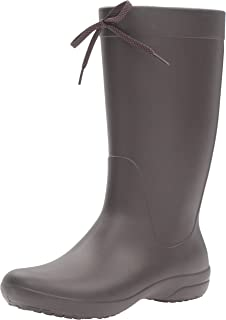 crocs RainFloe Boot, Damen Gummistiefel, Braun (Espresso/Espresso), 39/40 EU