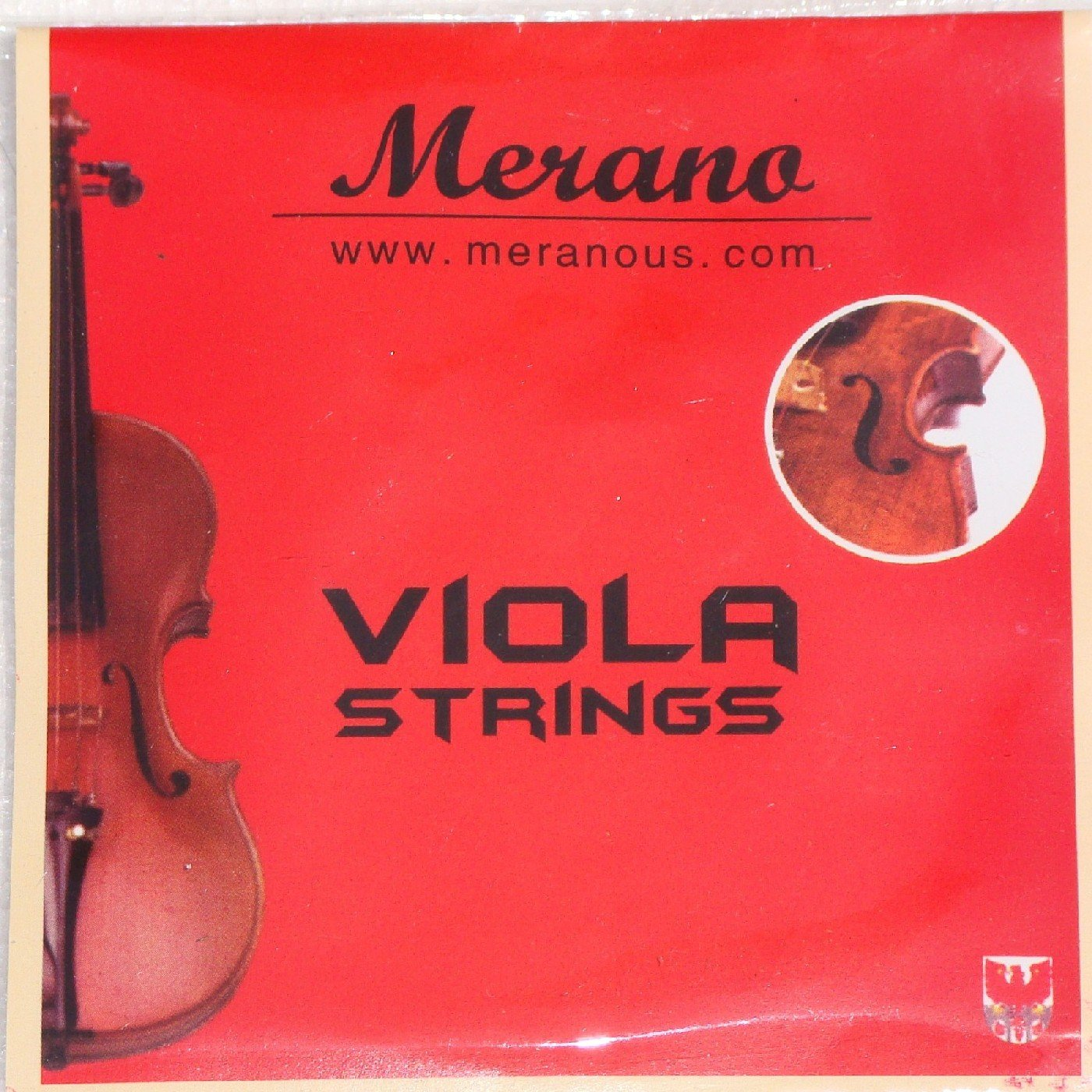 Merano Student 16 inch PINK Viola with PINK Stick Bow+Case+Extra Set of Strings+Rosin+Clip-on Tuner