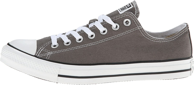 Converse Herren Chck Taylor All Star Ox Sneaker Grau Weiß