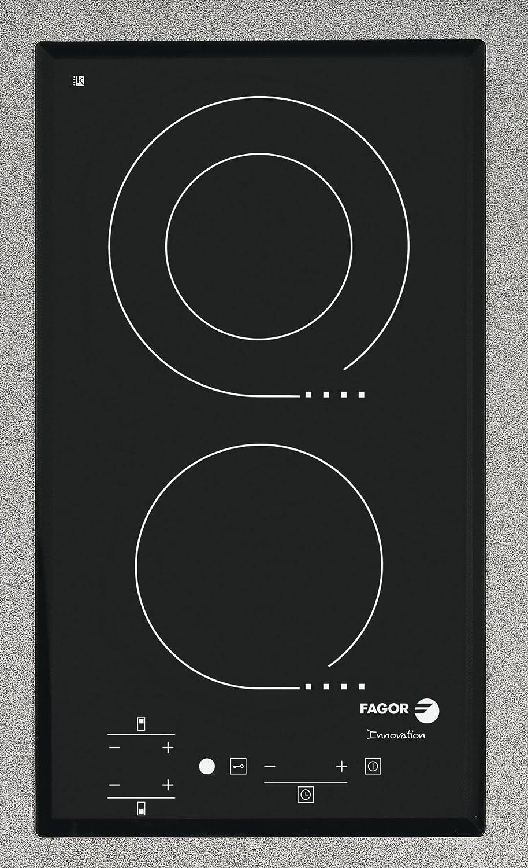 Fagor 3MFT-2 S Integrado Cerámico Negro - Placa (Integrado ...