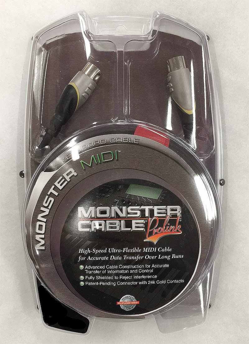 Monster MIDI Cable - 12'