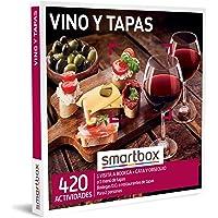 Smartbox - Caja Regalo Amor para Parejas - Vino y Tapas - Ideas Regalos Originales - 1 Visita a Bodega con cata y…