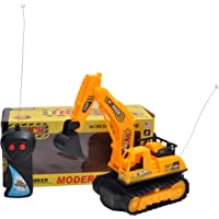 Toyzrin Mini JCB Power Remote Controlled Battery Operated Truck Toy