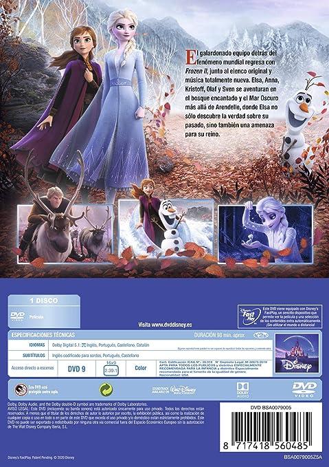 Frozen 2 [DVD]: Amazon.es: Personajes animados, Personajes animados: Cine y Series TV