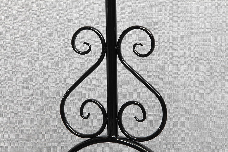 Perchero burro / perchero-paraban de forja de calidad con una balda – Elegante y sólida - Diseño único - Estilo Vintage