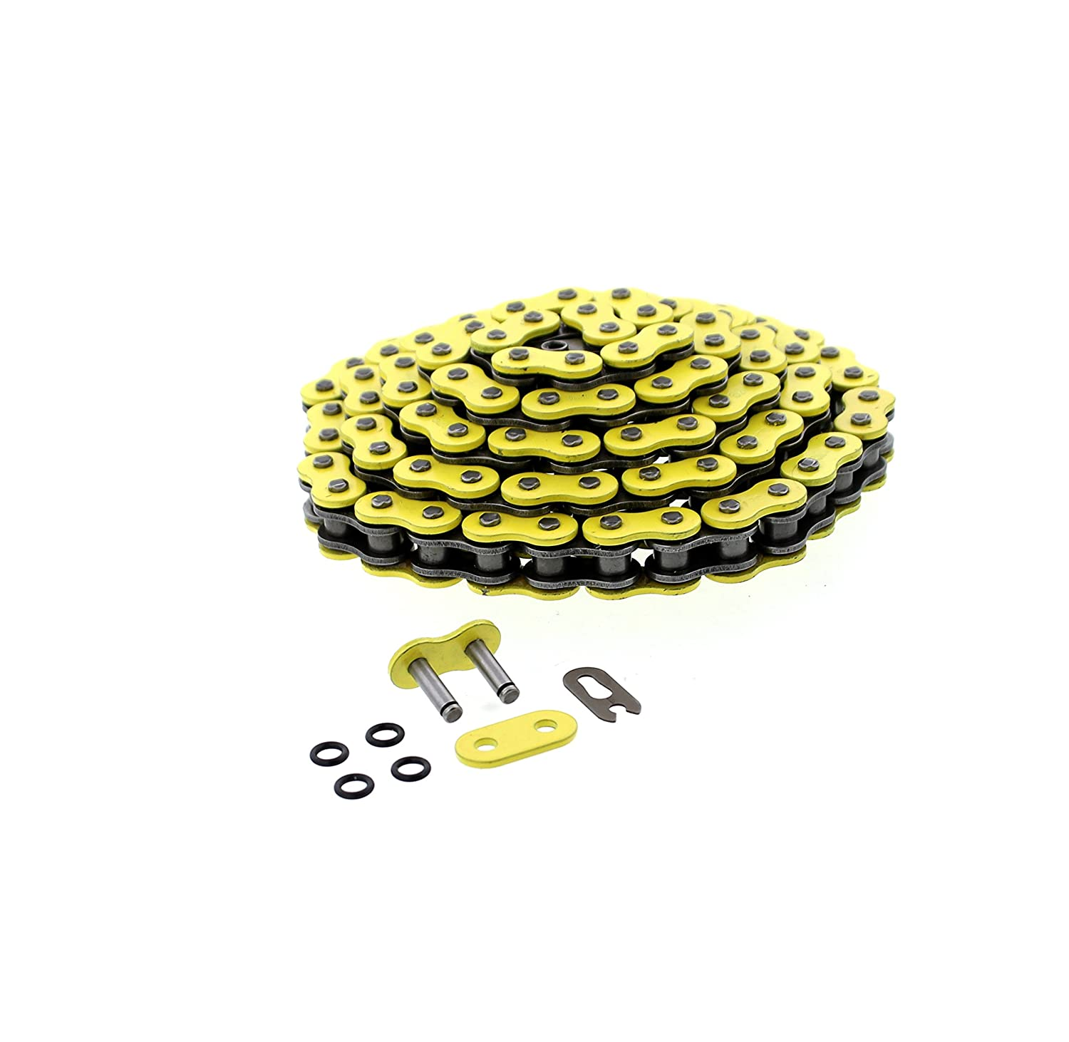 Yellow O-Ring Chain /& Silver Sprocket 12//40 100L 2004-2007 fits Yamaha YFZ450 YFZ 450