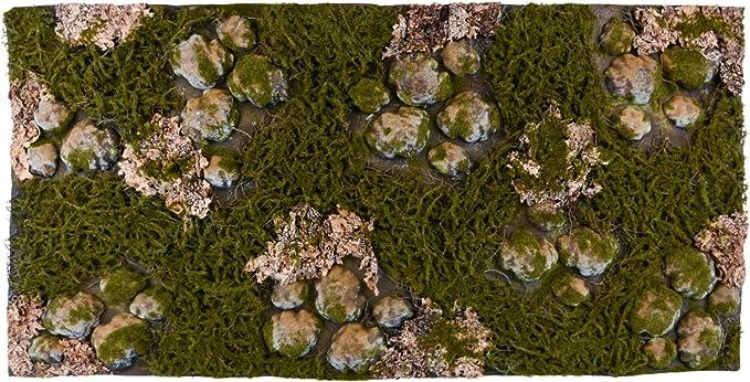 REPITERRA Terrario Posterior 3D Fondo Decorativo Natural Look Diferentes diseño 120 x 60 cm
