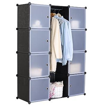 Kleiderschrank Garderobenschrank Regalsystem , DIY Steckregal ...