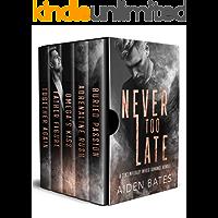 Never Too Late: A Contemporary Mpreg Romance Bundle