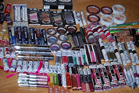 25 Piece Brand New Sealed Hard Candy Cosmetics Makeup Excellent Assorted Mixed Lot with No Duplicates